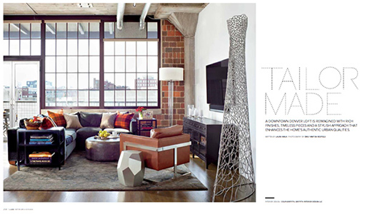Bachelor Pad, as featured in Luxe Magazine