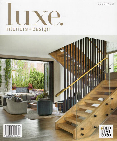 After Living In Oklahoma, A Connection To The Outdoors Is A Must For A Denver Family, as featured in Luxe Magazine
